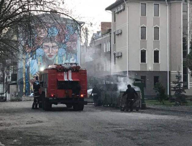 У центрі Луцька сталася пожежа. ФОТО