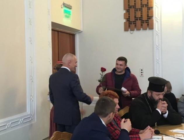 Волинянам вручили президентські відзнаки. ФОТО