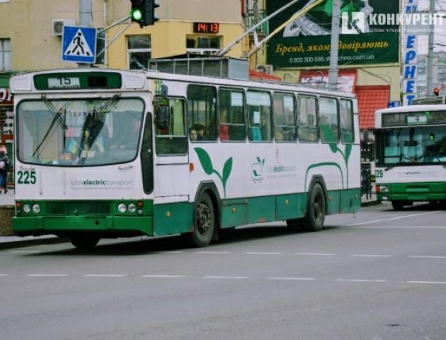 У Луцьку пасажир грубо облаяв водія тролейбуса