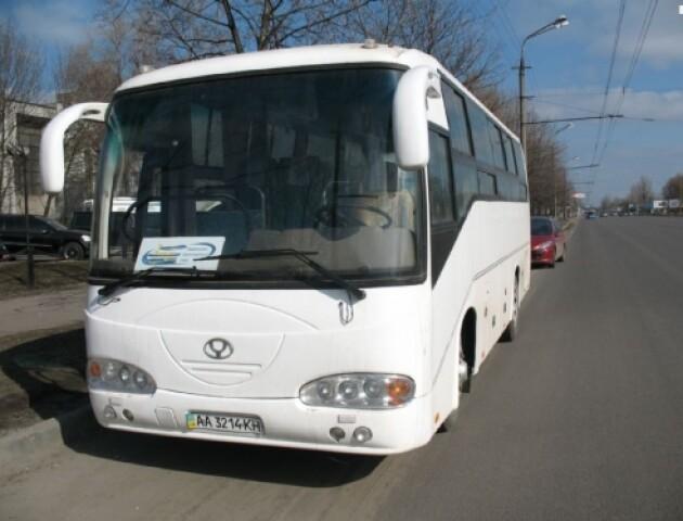 У Горохові вкрали зі стоянки автобус