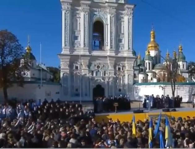 Волиняни поїдуть у Київ молитись за Єдину помісну церкву. ВІДЕО
