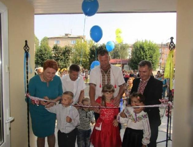 На Ковельщині відкрили унікальний центр для особливих діток. ФОТО
