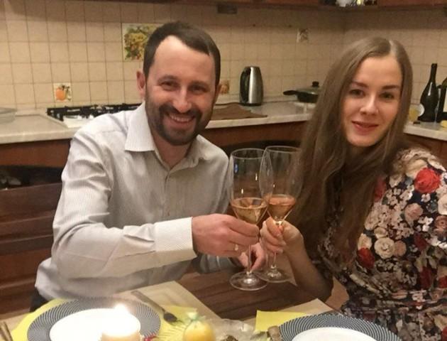 Дружина Сергія Григоренка зворушливо привітала його з річницею