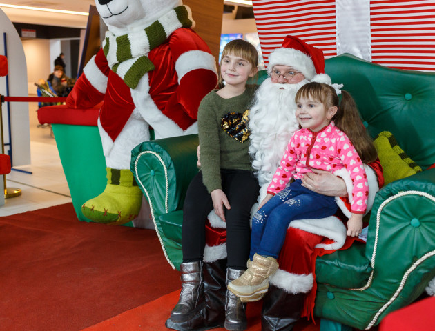 У РЦ «Промінь» на маленьких лучан чекає Санта Клаус. ФОТО