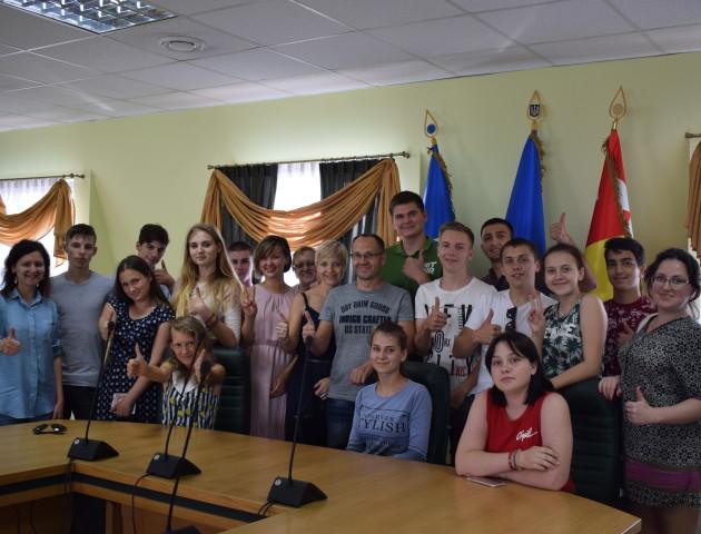 Таврійська молодь надихалася розповідями про молодіжні ініціативи в Луцьку