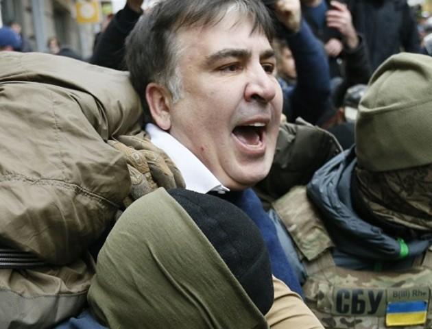 Саакашвілі затримали в київському ресторані. ВІДЕО