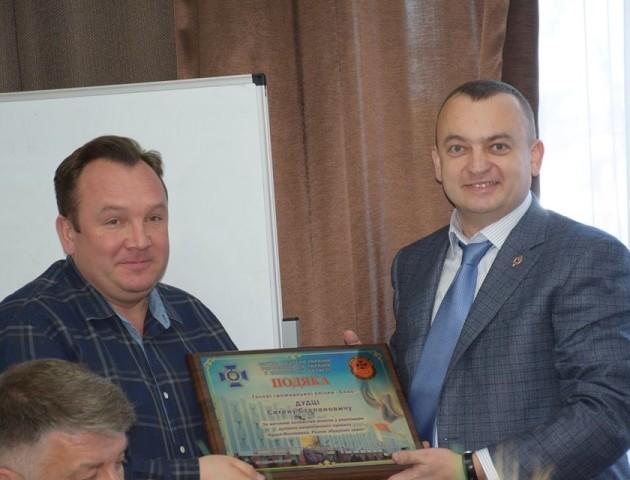 СБУ нагородила Євгена Дудку за внесок у будівництво храму в Волновасі