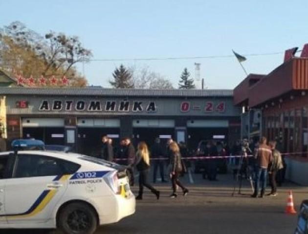 Стрілянина в Луцьку: знайшли машину ймовірних нападників