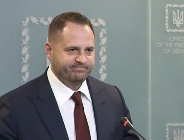 Перший брифінг Андрія Єрмака у статусі голови ОП. Найголовніше про Крим, Донбас та кадрові зміни