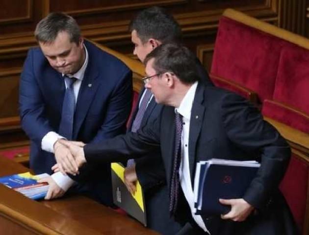 Луценко ініціював зняття Холодницького з посади голови САП