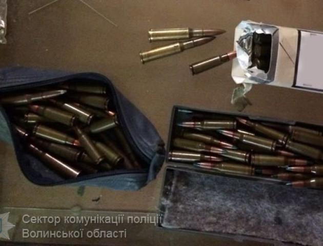 У двох волинян вилучили гранату та майже сто набоїв. ФОТО