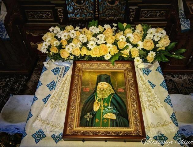 У селі на Волині щотижня моляться про зцілення перед іконою преподобного Меркурія
