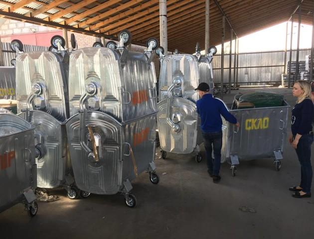 У Княгининівській ОТГ встановлять контейнери для роздільного збору сміття. ФОТО