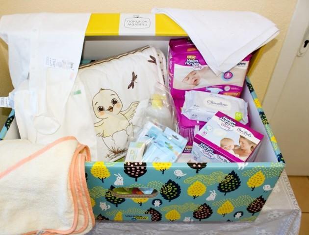 Волинь отримала вже понад тисячу «пакунків малюка». ВІДЕО