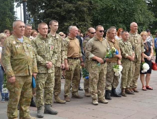 У Ковелі вшанували загиблих під Іловайськом. ФОТО