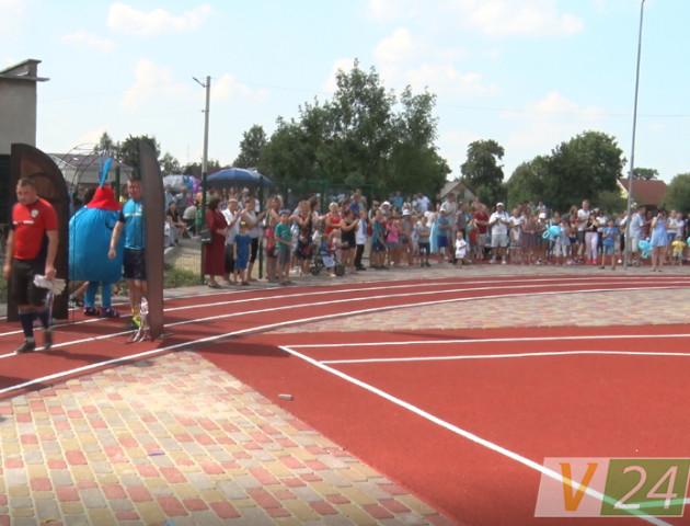 У селі під Луцьком відкрили новий спорткомплекс. ФОТО