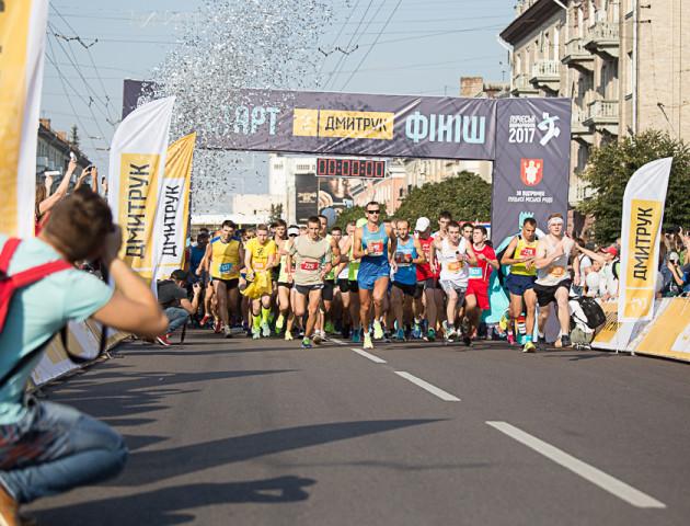 З'явилася програма Dmytruk Luchesk Half Marathon