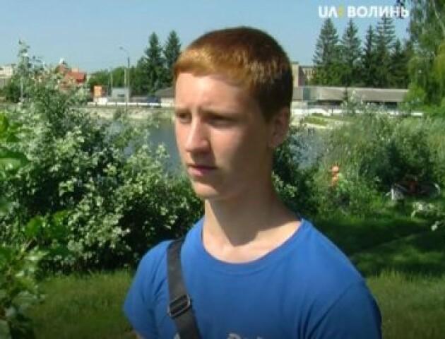 Школяр врятував чоловіка, який вже лежав на дні Теремнівського ставка. Хлопця хочуть нагородити