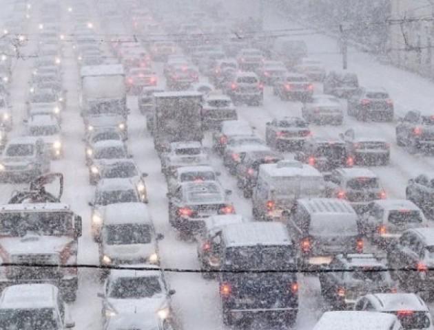 Затори у Луцьку: які вулиці варто оминати