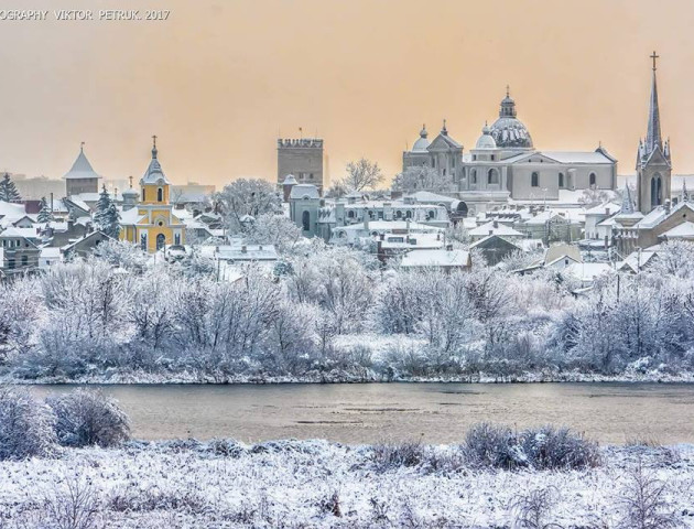 Фотограф показав неймовірну красу зимового Луцька