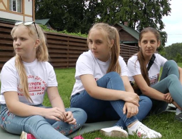 На Волинь приїхали юні художники з Луганщини. ВІДЕО