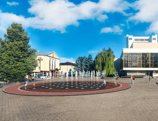 У центрі Луцька хочуть зробити світломузичний фонтан. ФОТО