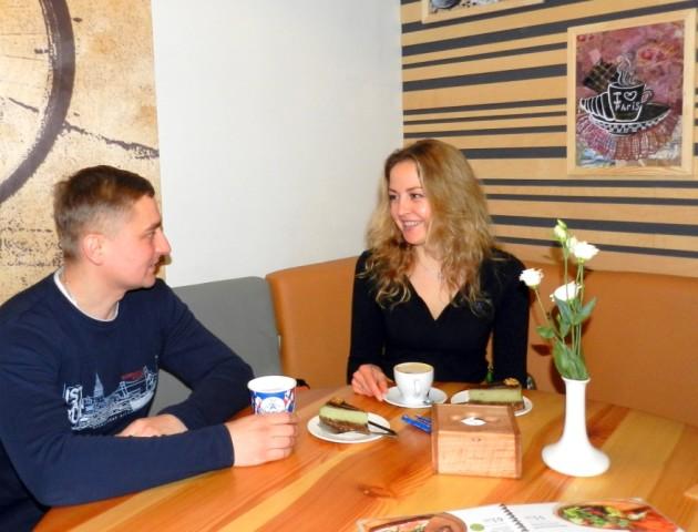 Недільна кава з Оленою Турченюк: «В мене все в шоколаді. І на кухні, і в житті»