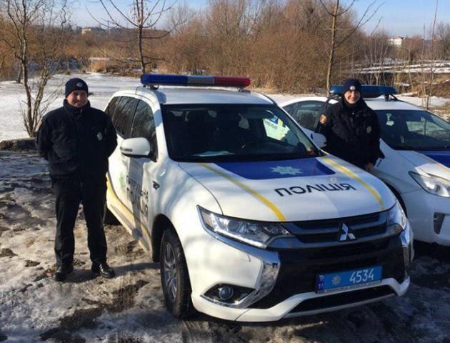 У Луцьку затримали п'яного водія на краденому авто. ФОТО