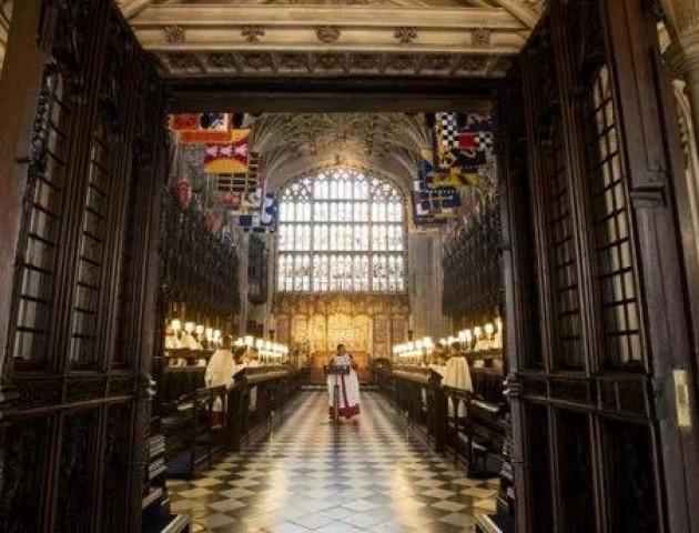 У старовинному замку Англії заспівали «Щедрик». ВІДЕО