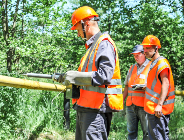 Цьогоріч фахівці ПАТ «Волиньгаз» вже обстежили понад 4,5 тис км газових мереж  області