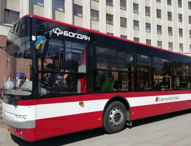 Сучасні автобуси від луцького заводу їздитимуть Івано-Франківськом