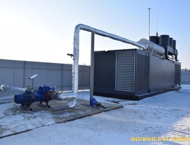 У селі Брище запрацювала установка з переробки біогазу в електрику