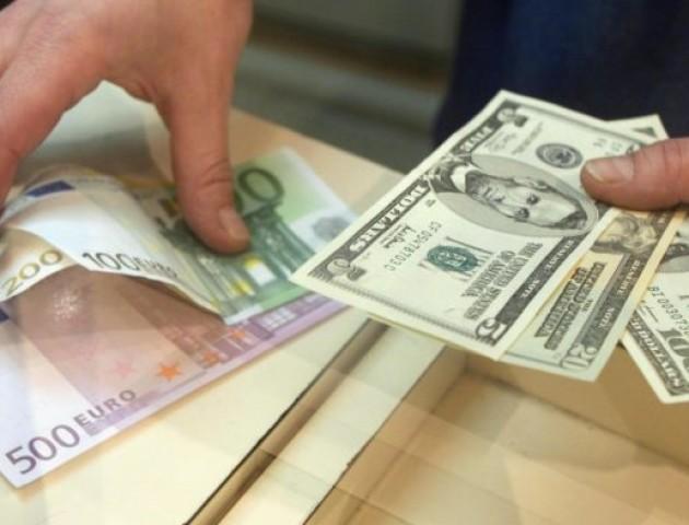 Курс валют у пунктах обміну Луцька на 19 грудня