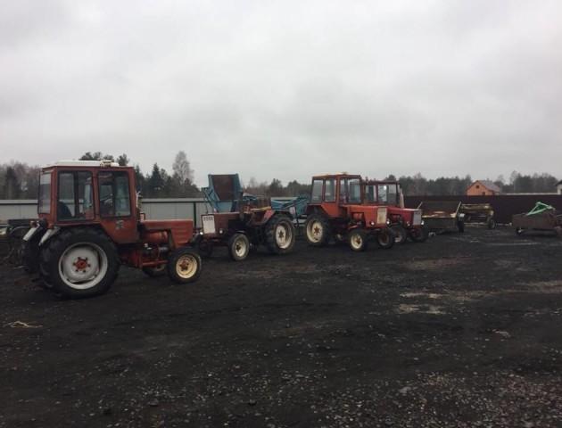 На Волині викрили схему незаконного ввезення сільськогосподарської техніки в Україну. ФОТО