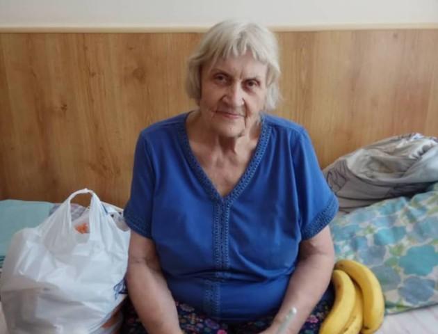 У Луцьку за день зібрали половину грошей на лікування самотньої бабусі. ОНОВЛЕНО