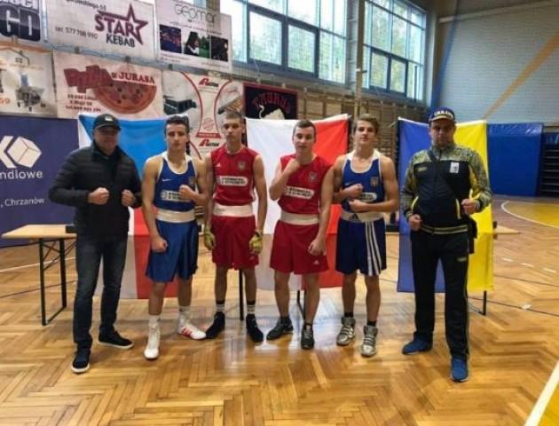 Волинський боксер здобув «бронзу»на міжнародному турнірі в Польщі