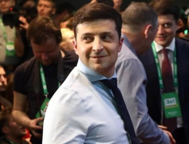 «Дякую СБУ, що тримали мене в тонусі»: що сказав Зеленський після оголошення екзит-полів
