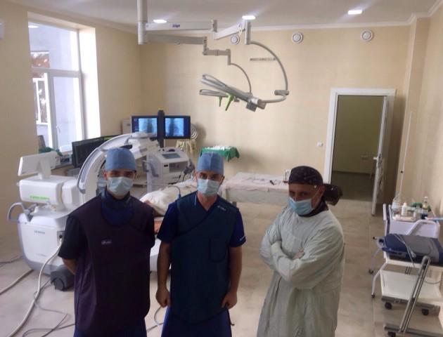 В обласні клінічній лікарні в один день провели три операції, яких не робили понад 10 останніх років