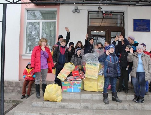 Співробітники СБУ привітали з Миколаєм вихованців Заболоттівської школи-інтернату