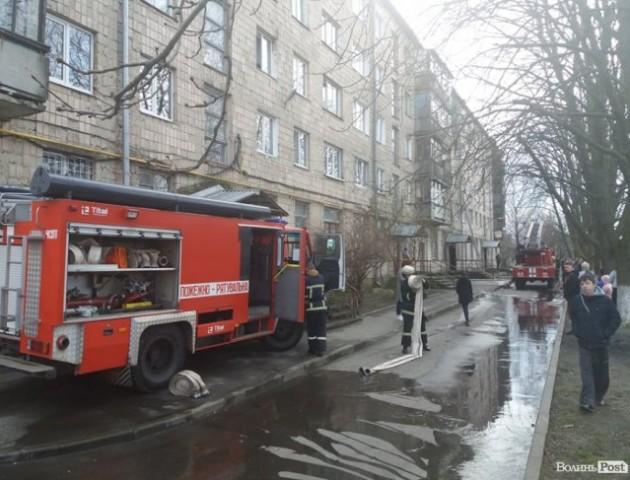 У Луцьку знайшли труп чоловіка у згорілій квартирі. ФОТО