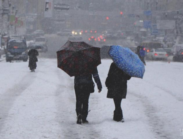 Дощ зі снігом: якою буде погода у Луцьку та в області в перший день нового року