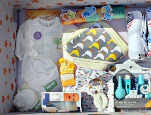 Скільки породіль з Волині отримали «пакунки малюка»
