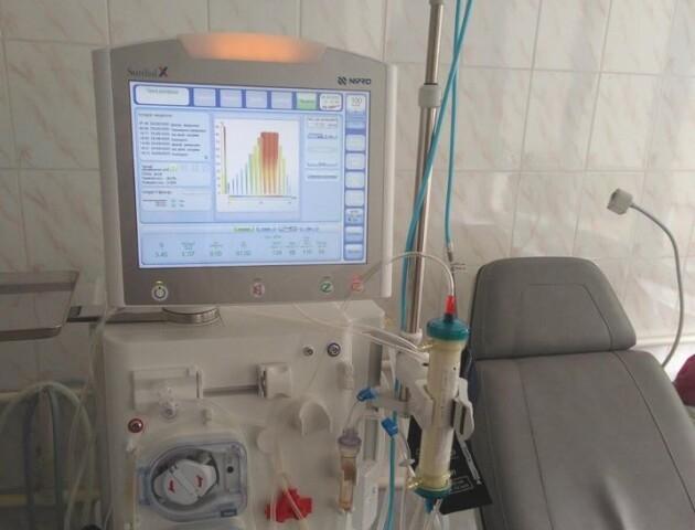 Луцька лікарня отримала сучасні апарати для гемодіалізу
