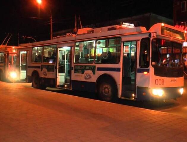 На Великдень луцькі тролейбуси їздитимуть всю ніч