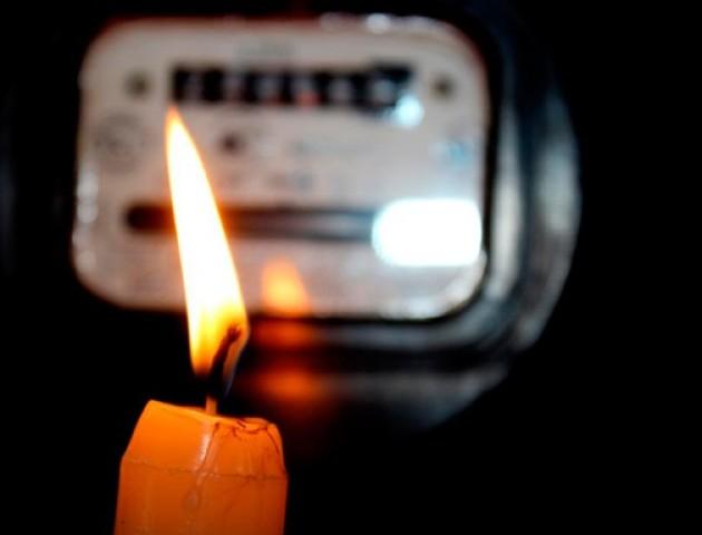 Графік відключення світла у Луцьку 17 жовтня