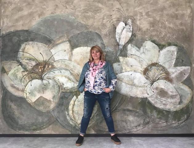 Луцька художниця поділилася світлинами своєї нової роботи