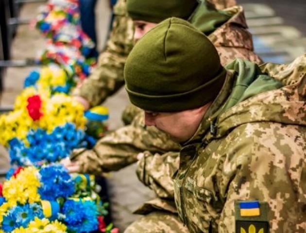 Герої не вмирають: у Луцьку вшанували пам'ять полеглих на Майдані. ФОТО