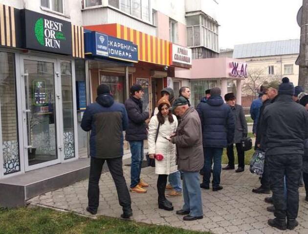 У Луцьку протестували під російськомовною кав'ярнею