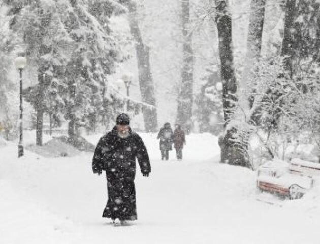 Негода не відступає: на Волині знову прогнозують хуртовини та ожеледицю