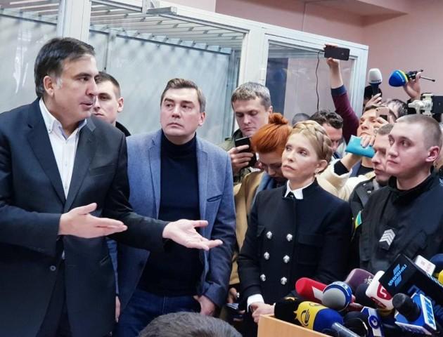 «Ось це і є нова Україна? Це і є прозорість?», - Міхеіл Саакашвілі